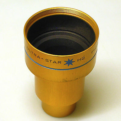 Isco Optic Ultra-Star HD 42mm projection lens for 35mm film.