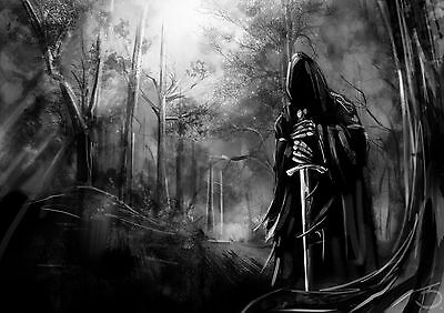 Poster A3 El Señor De Los Anillos The Lord Of The Rings Nazgul