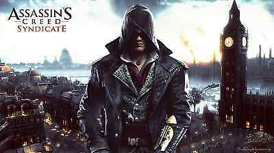 Poster 42x24 cm Assassins Creed Syndicate 01