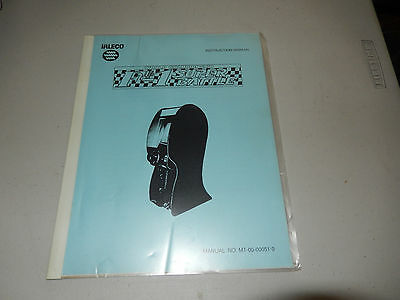 F-1 SUPER BATTLE  JALECO   arcade  game owners manual
