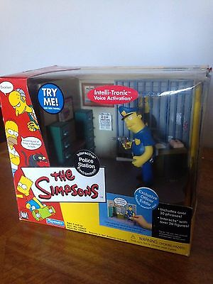 The Simpsons Interactive Police Station Environment & Officer Eddie & Box