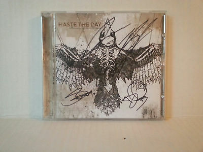 Haste The Day - Band - Signed Cd- Rare - Free Shipping