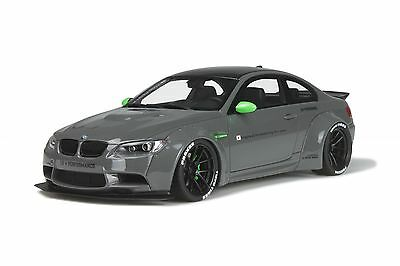 1:18 GT Spirit GT127 BMW E92 M3 LB Performance (Liberty Walk) Grey. LB WORKS