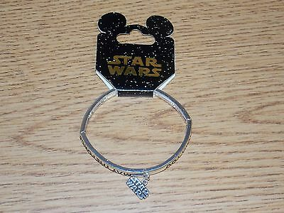 RARE Disney Park Star Wars Bracelet The Force Awakens May The Force be with You