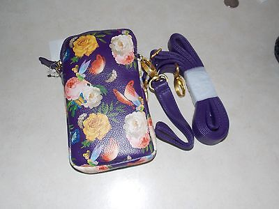 Disney Theme Parks Tinkerbell Tinker Bell Bah Cell phone Holder Coin Purse New