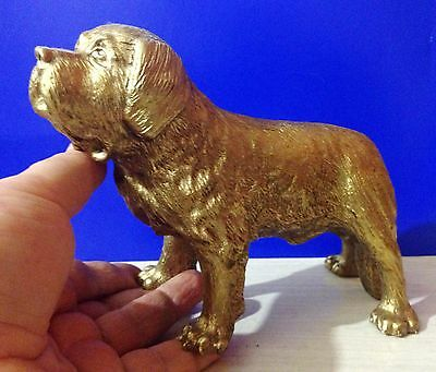 Newfoundland bronze figurine dog exclusive from Russia for the collection dogs