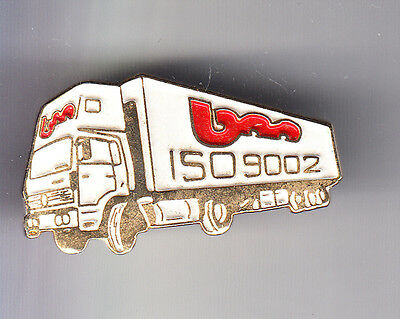 Rare Pins Pin's .. Camion Truck Renault V.i Sncf Transport Geodis Bm 35 ~Cp
