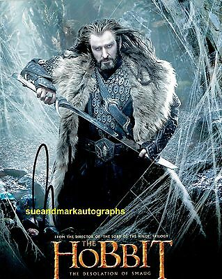 Richard Armitage Thorin Oakenshield  The Hobbit  Autograph UACC RD 96