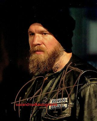 Ryan Hurst Opie Sons Of Anarchy Outlaw Motorcycle Gang C Autograph UACC RD 96