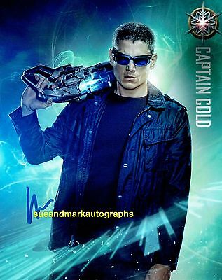 Wentworth Miller Flash Captain Cold Legends Of Tomorrow B Autograph UACC RD96