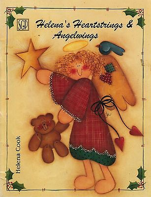 Tole Decorative Painting Helena Cook's Heartstrings & Angel Wings Christmas Book