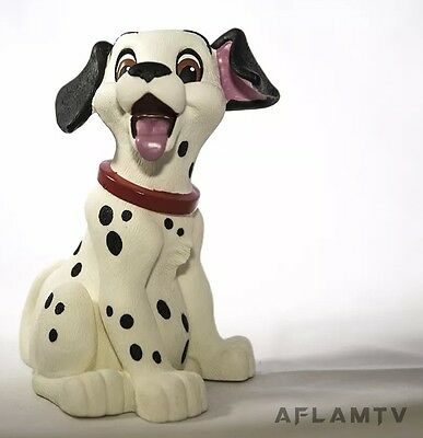 101 Dalmatians Figure Coin Bank by Applause. New Vintage Rare Pixar Disney