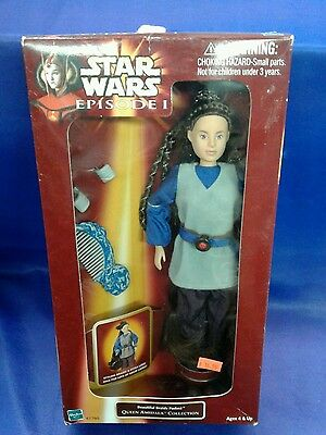 beautiful braids padme queen amidala collection star wars doll