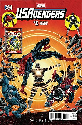 Us Avengers #1 (2017) 1St Printing Perkins Xci Variant Cover