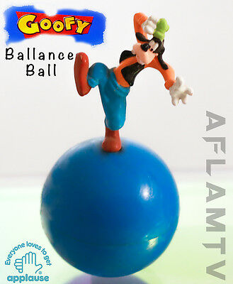 Goofy Balance Ball Figurine RARE vintage New Applause Figure Mickey Mouse Disney