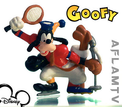Goofy sport PVC figurine Applause Disney Tennis golf scuba skating Figure