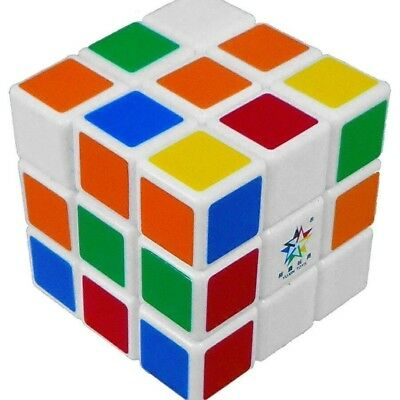Speed Cube Magic Puzzle 3x3x3 Stickerless Twist 3x3 x-mas Gift Very Smooth