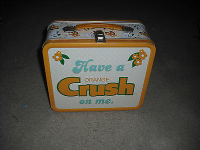 ( Have A Orange Crush On Me ) Metal Lunch Box, Lunch Pail, Lunchbox. Wow.