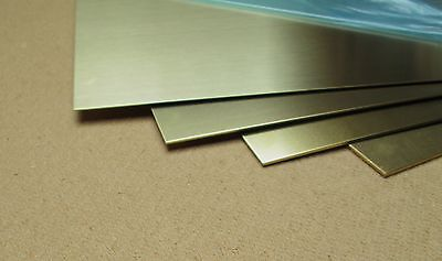 Brass Sheet Plate 0.5mm 0.7mm 0.9mm 1.2mm 1.5mm 2.0mm Thick