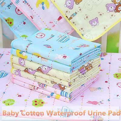 Pad Cotton Changing Bedding Nappy Waterproof Urine Mat Baby Diaper Infant Burp