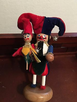 Nutcracker Jester with Puppet
