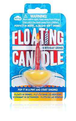Cool Novelty Floating Birthday Candle - Perfect for the Birthday Pint!