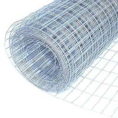 "ALEKO Mesh 25 Ft Wire Roll Cloth 16 Gauge Steel 24x25 1""X2"" Mesh WM24X25M1X2G16"