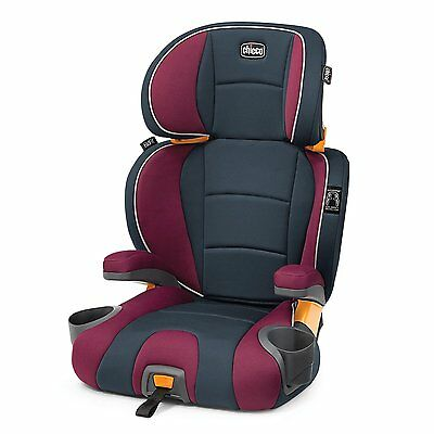 Chicco KidFit Booster Car Seat, Purple