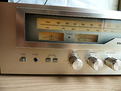 VINTAGE ROTEL RECEIVER RX-503 AM/FM Amplifier Tuner Phono Analogue Indicators
