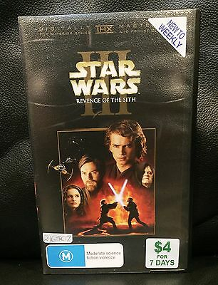 Star Wars 3 - Revenge Of The Sith - Vhs