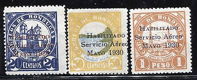 Honduras Scott C38-40 mint never hinged