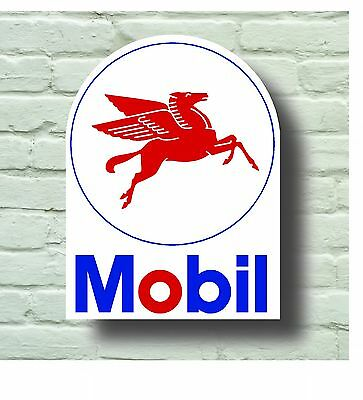 Large Retro Style 2Ft Mobil Garage Sign Wall Plaque Classic Oil Vintage Car