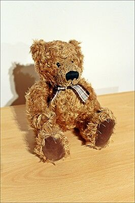 Collectable Russ Berrie COLBY Brown Teddy Bear Plush Toy Gorgeous!