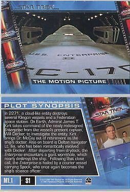 Star Trek The Complete Movies Plot Synopses Insert Set S1-S30 (30)
