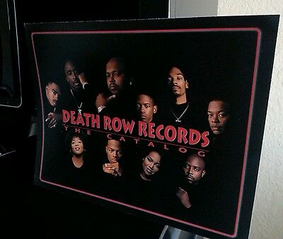 DEATH ROW RECORDS  POSTER  11x 8