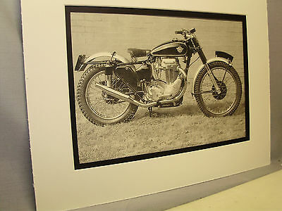 1951 Matchless G80/C   Motorcycle  Exhibit From National Motorcycle Museum