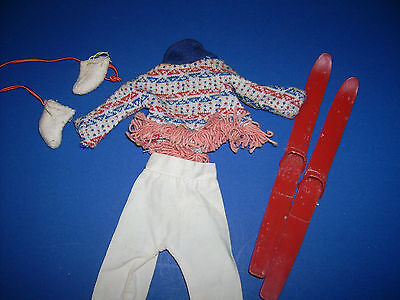 Tressy family Cricket Winter Weekend American Character doll clothes Vtg 1960's