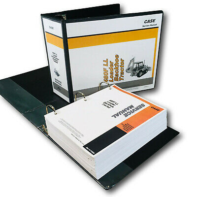 Case 480F Tractor Loader Backhoe Service Technical Manual Repair Shop In Binder