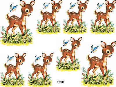 NeW! MeYeRCoRD RePrO FaWnS SHaBbY WaTerSLiDe DeCALs