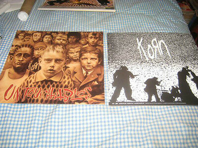 KORN-(untouchables)-1 POSTER FLAT-2 SIDED-12X12-RARE