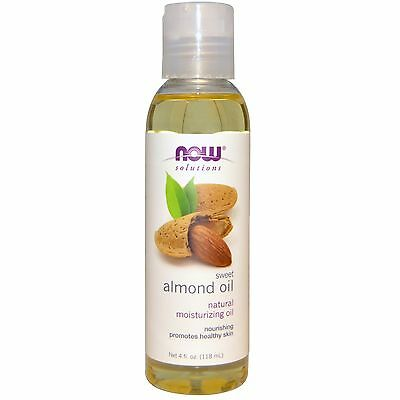 Now Foods Solutions Sweet Almond Oil 118ml