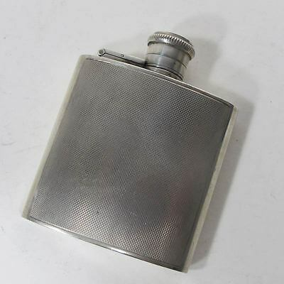 Antique Sterling Silver SMALL FLASK Hallmarked Birmingham England 1914