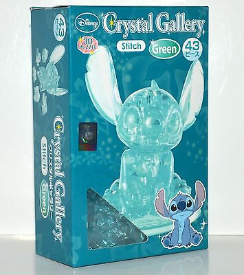 Disney Crystal Gallery 3D Stitch Puzzle Green