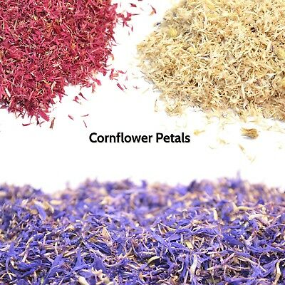 Cornflower Petals, Tea Maing, Dried Corn Flowers, Soap, Candle, Craft, Confetti