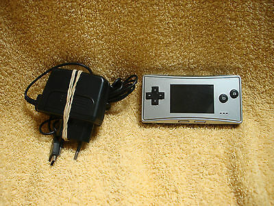 Console Nintendo Game Boy Micro Gris Argent Silver Europe