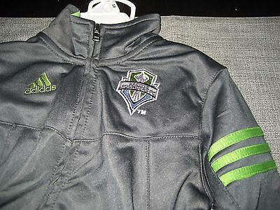 BOYS/GIRLS Seattle Sounders FC adidas Track TOP BOTTOMS SUIT SIZE 24 MONTHS NWT