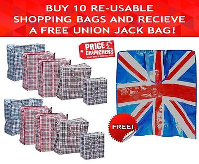 Jumbo Laundry Storage Shopping Washing Clothes Reusable Large Small Strong Bags