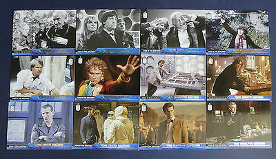 Topps 2015 Dr Who Set Who Is The Doctors- Extremely Hard To Find