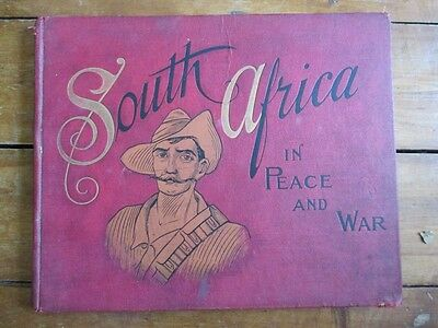 SOUTH AFRICA IN PEACE & WAR ed Lang Neil c 1903