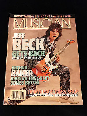 Musician Magazine-Jeff Beck-Jimmy Page
